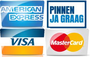 Pin en Creditcards